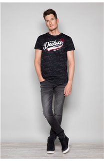 T-Shirt T-SHIRT MILO Homme W19140 (48466) - DEELUXE