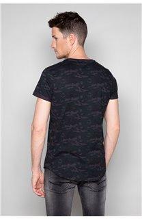T-Shirt T-SHIRT MILO Homme W19140 (48468) - DEELUXE