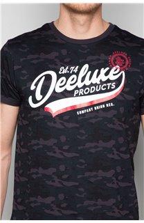 T-Shirt T-SHIRT MILO Homme W19140 (48469) - DEELUXE