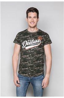 T-Shirt T-SHIRT MILO Homme W19140 (48470) - DEELUXE