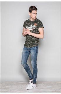 T-Shirt T-SHIRT MILO Homme W19140 (48471) - DEELUXE