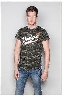 T-Shirt T-SHIRT MILO Homme W19140 (48472) - DEELUXE