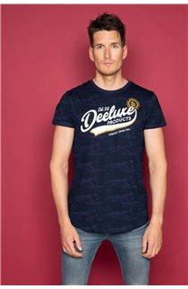 T-Shirt T-SHIRT MILO Homme W19140 (48477) - DEELUXE