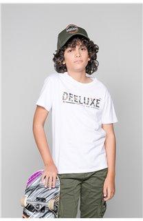 T-Shirt LEON Garçon W19131B (48628) - DEELUXE