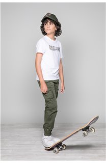 T-Shirt LEON Garçon W19131B (48629) - DEELUXE