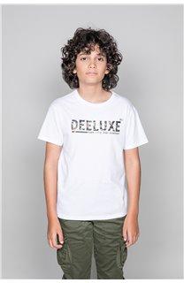 T-Shirt LEON Garçon W19131B (48630) - DEELUXE