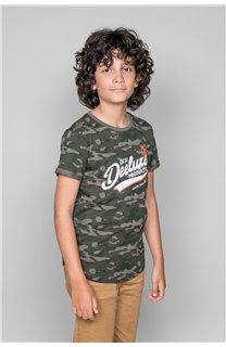 T-Shirt MILO Garçon W19140B (48633) - DEELUXE