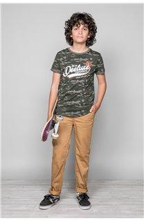 T-Shirt MILO Garçon W19140B (48634) - DEELUXE