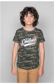 T-Shirt MILO Garçon W19140B (48635) - DEELUXE