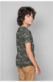 T-Shirt MILO Garçon W19140B (48636) - DEELUXE