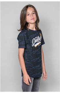 T-Shirt MILO Garçon W19140B (48640) - DEELUXE