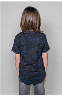 T-Shirt MILO Garçon W19140B (48641) - DEELUXE
