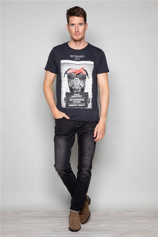T-shirt BANDI Homme Deeluxe