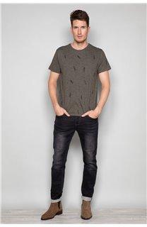 T-Shirt T-SHIRT FIZ Homme W19172 (48674) - DEELUXE