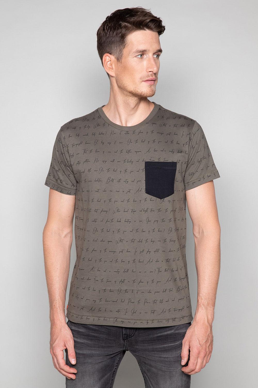 T-Shirt T-SHIRT SCRIPTY Homme W191106 (48678) - DEELUXE