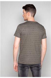 T-Shirt T-SHIRT SCRIPTY Homme W191106 (48681) - DEELUXE