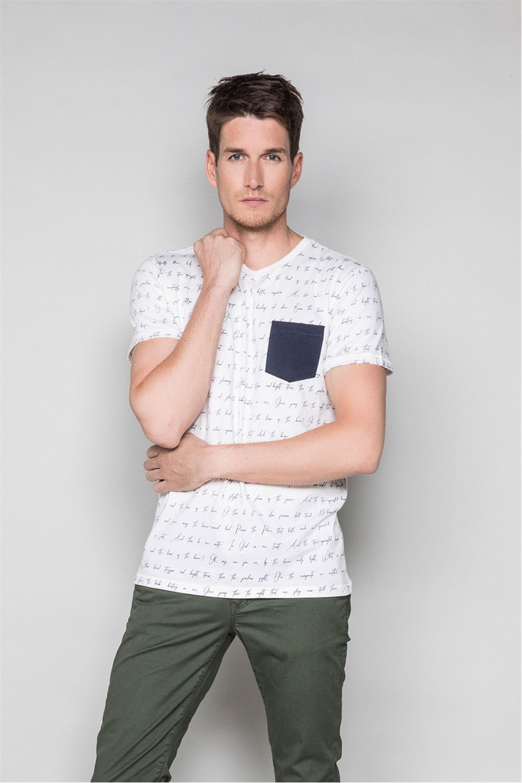 T-Shirt T-SHIRT SCRIPTY Homme W191106 (48683) - DEELUXE
