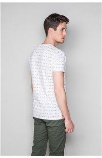T-Shirt T-SHIRT SCRIPTY Homme W191106 (48686) - DEELUXE