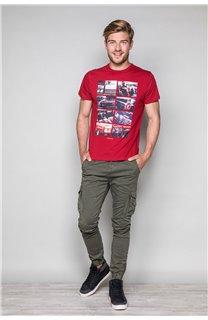 T-Shirt T-SHIRT MAGNUM Homme W19130 (48699) - DEELUXE