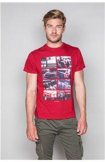 T-Shirt T-SHIRT MAGNUM Homme W19130 (48700) - DEELUXE