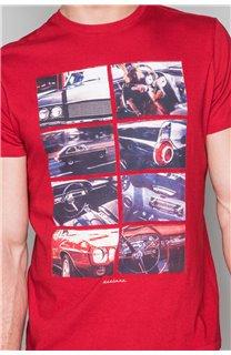 T-Shirt T-SHIRT MAGNUM Homme W19130 (48702) - DEELUXE