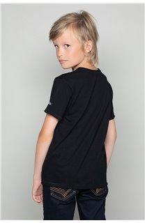 T-Shirt LIONMAN Garçon W19135B (48706) - DEELUXE