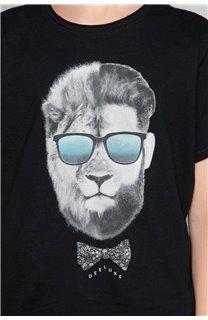 T-Shirt LIONMAN Garçon W19135B (48707) - DEELUXE
