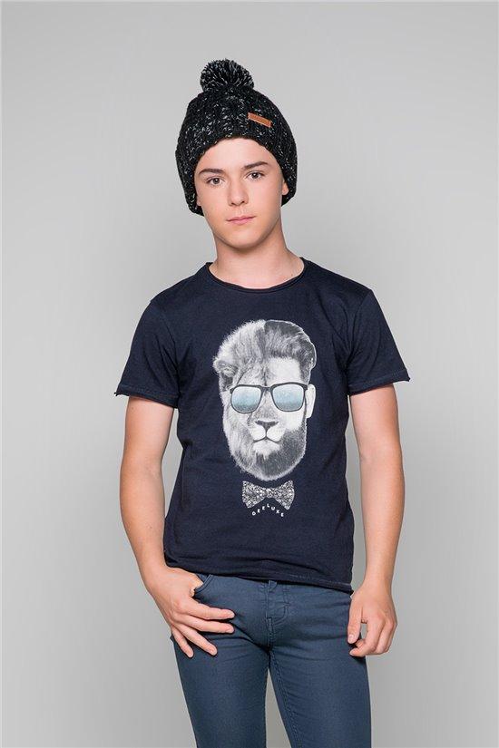 T-Shirt LIONMAN Garçon W19135B (48708) - DEELUXE