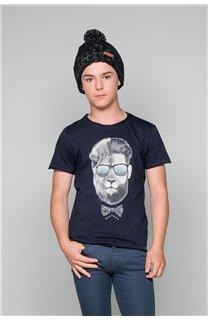T-Shirt T-Shirt LIONMAN Garçon W19135B (48708) - DEELUXE