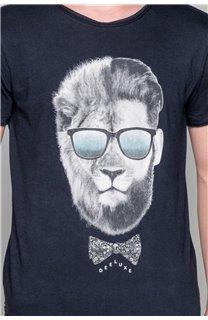 T-Shirt LIONMAN Garçon W19135B (48712) - DEELUXE