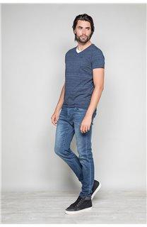 T-Shirt T-SHIRT TILDEN Homme W19177 (48768) - DEELUXE