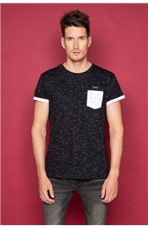T-Shirt SHAMSON Homme W19195 (48779) - DEELUXE