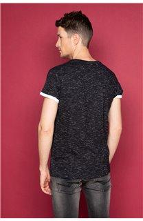 T-Shirt SHAMSON Homme W19195 (48780) - DEELUXE