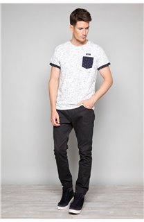 T-Shirt SHAMSON Homme W19195 (48783) - DEELUXE