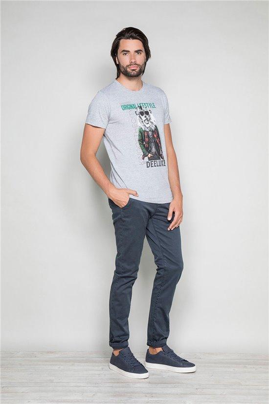 T-Shirt CLASSY Homme W19155 (48787) - DEELUXE