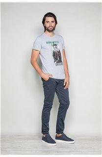 T-Shirt T-SHIRT CLASSY Homme W19155 (48788) - DEELUXE