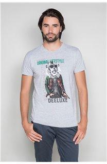 T-Shirt T-SHIRT CLASSY Homme W19155 (48789) - DEELUXE