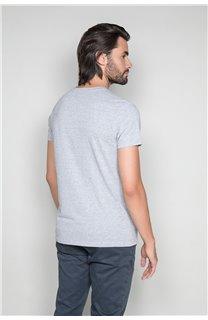 T-Shirt T-SHIRT CLASSY Homme W19155 (48790) - DEELUXE