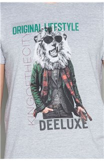 T-Shirt T-SHIRT CLASSY Homme W19155 (48791) - DEELUXE