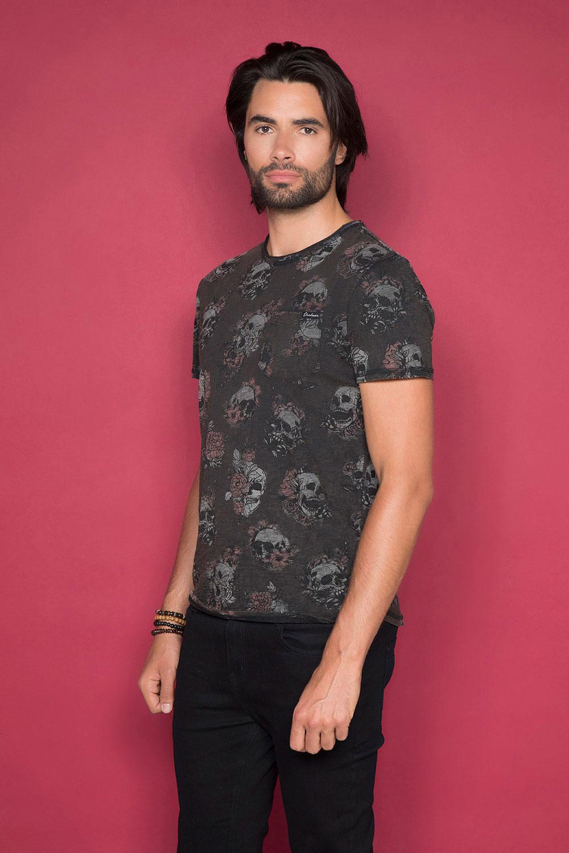 T-Shirt FLOSKULL Homme W19105 (48792) - DEELUXE