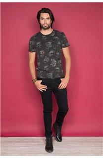 T-Shirt T-SHIRT FLOSKULL Homme W19105 (48793) - DEELUXE