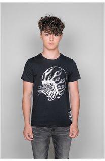 T-Shirt MOTORTIGER Garçon W19132B (48799) - DEELUXE