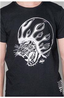 T-Shirt MOTORTIGER Garçon W19132B (48801) - DEELUXE