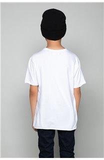 T-Shirt T-Shirt SKULLMAN Garçon W19134B (48805) - DEELUXE