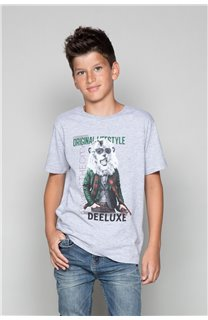 T-Shirt CLASSY Garçon W19155B (48807) - DEELUXE
