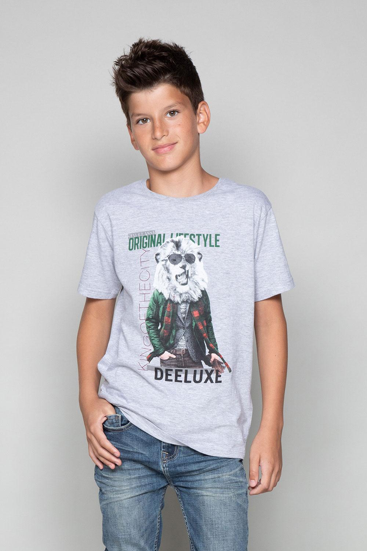 T-Shirt T-Shirt CLASSY Garçon W19155B (48807) - DEELUXE
