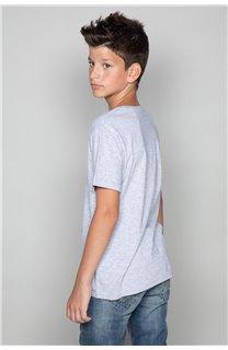 T-Shirt T-Shirt CLASSY Garçon W19155B (48810) - DEELUXE