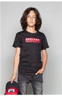 T-Shirt T-SHIRT WEAK Garçon W19147B (48812) - DEELUXE