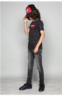 T-Shirt T-SHIRT WEAK Garçon W19147B (48813) - DEELUXE