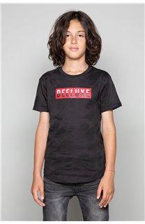 T-Shirt T-SHIRT WEAK Garçon W19147B (48814) - DEELUXE